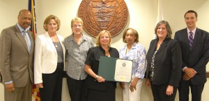 Chester County, PA Commissioners commemorating Women's Equality Day