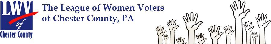 The League of Women Voters of Chester County
